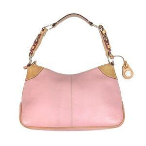 Dooney & Bourke baby pink shoulder bag